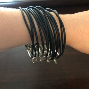 Multi lucky charm bracelet